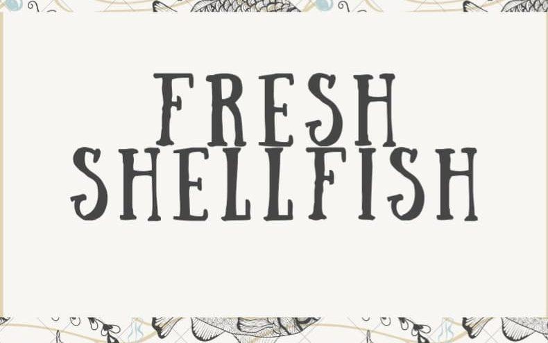 Fresh Shellfish
